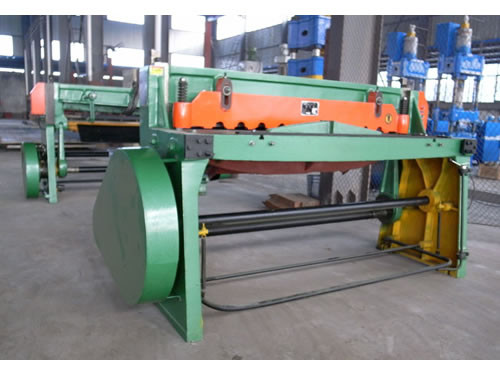True-cut Mechanical Shearing Machine